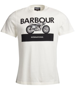 Men's Barbour International Rider Tee - Whisper White