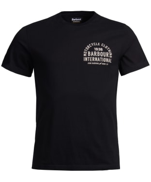 Men's Barbour International Wayback Tee - Black