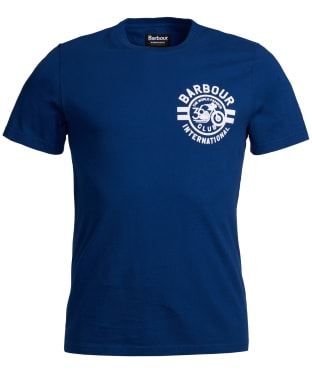 Men's Barbour International Wayback Tee - Deep Blue