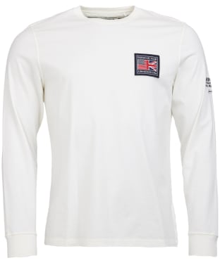 Men's Barbour Steve McQueen Team L/S Tee - Neutral