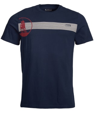 Men's Barbour Lachlan Tee - Navy