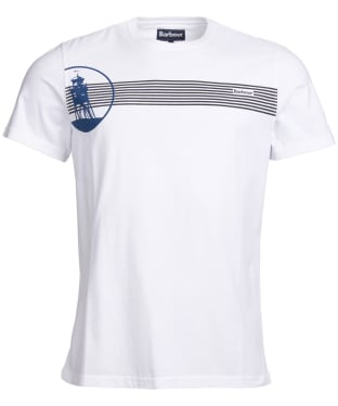 Men's Barbour Lachlan Tee - White