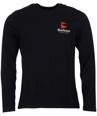 Men's Barbour Souter Long Sleeved Tee - Black