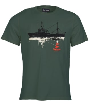 Men's Barbour Lowestoft Tailored Tee - Green