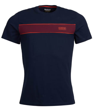 Men's Barbour International Magna Block Tee - Navy
