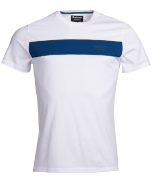 Men's Barbour International Magna Block Tee - White