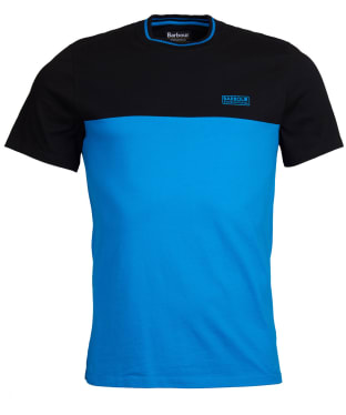 Men's Barbour International Blocker Tee - Deep Turquoise