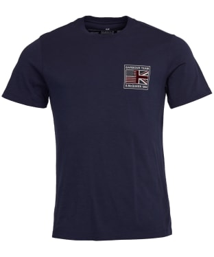 Men's Barbour International Steve McQueen Flag Tee