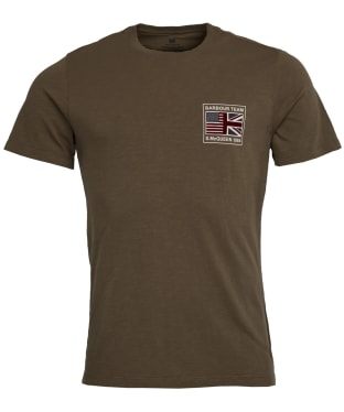 Men's Barbour International Steve McQueen Flag Tee