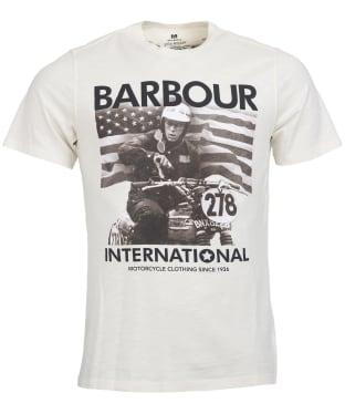 Men's Barbour Steve McQueen 278 Time Tee - Neutral