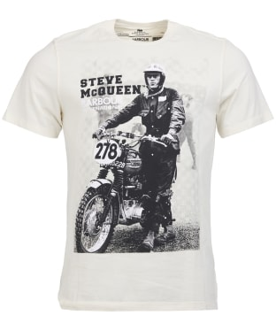 Men's Barbour Steve McQueen Stand and Ride Tee - Neutral
