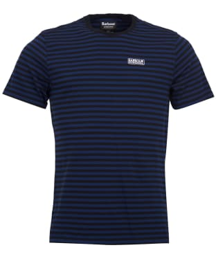 Men's Barbour International Equal Stripe Tee - Deep Blue