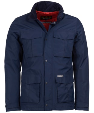 Men's Barbour Hexham Waterproof Jacket - Navy