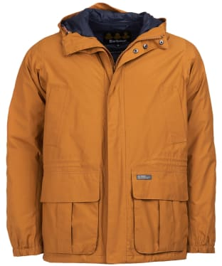 Men's Barbour Ashton Waterproof Jacket - Tumeric