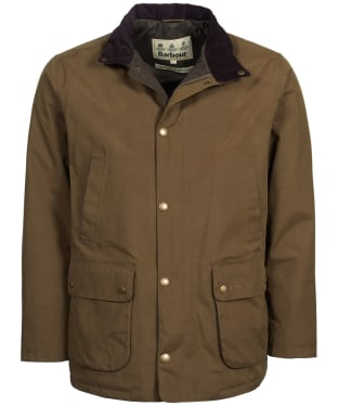 Men's Barbour Lorton Waterproof Jacket - Dark Sand