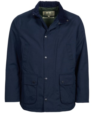Men's Barbour Lorton Waterproof Jacket - Navy