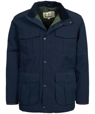 Men's Barbour Farrier Waterproof Jacket - Navy