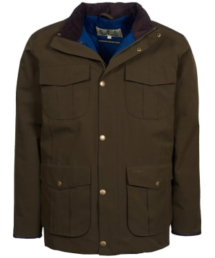 Men's Barbour Farrier Waterproof Jacket - Olive