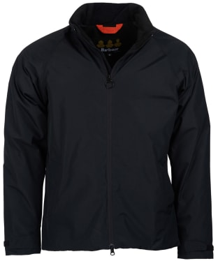 Men's Barbour Levanter Waterproof Jacket - Black