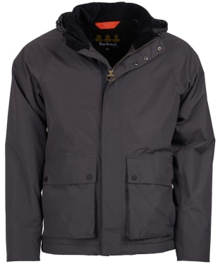 Men's Barbour Cirrus Waterproof Jacket - Charcoal