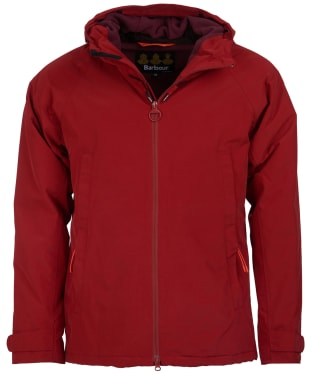 Men's Barbour Rotor Waterproof Jacket - Crimson