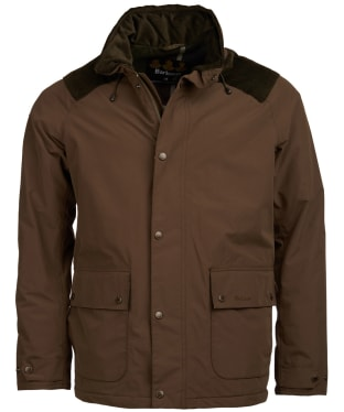 Men's Barbour Marple Waterproof Jacket - Dark Olive