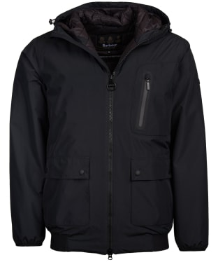 Men's Barbour International Lane Waterproof Jacket - Black