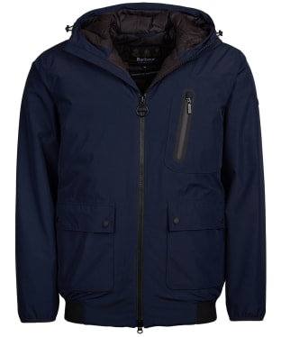 Men's Barbour International Lane Waterproof Jacket - Navy
