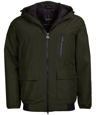 Men's Barbour International Lane Waterproof Jacket - Sage
