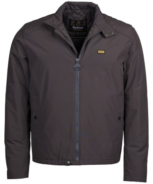 Men's Barbour International Houndsditch Waterproof Jacket - Charcoal