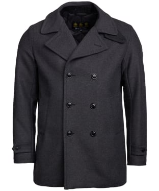 Men's Barbour Westilby Wool Jacket - Charcoal