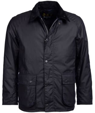 Men's Barbour Strathyre Waxed Jacket - Navy