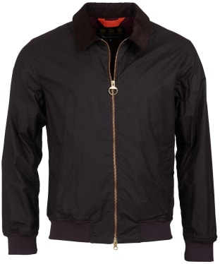 Men's Barbour Advection Waxed Jacket - Rustic