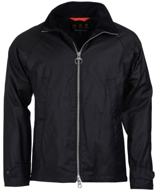 Men's Barbour Floccus Waxed Jacket - Black