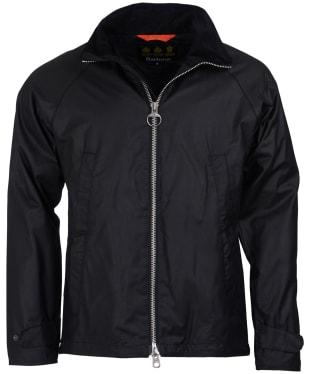 Men's Barbour Floccus Waxed Jacket - Black