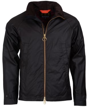 Men's Barbour Floccus Waxed Jacket - Rustic