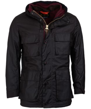 Men's Barbour Genoa Waxed Jacket - Rustic