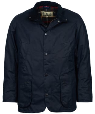 Men's Barbour Brandreth Waxed Jacket - Navy