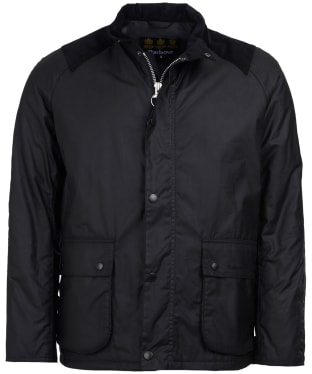 Men's Barbour Aldwark Waxed Jacket - Black