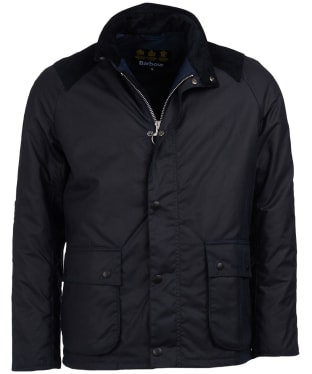Men's Barbour Aldwark Waxed Jacket - Navy