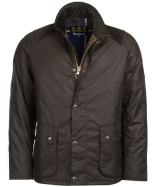 Men's Barbour Aldwark Waxed Jacket - Olive