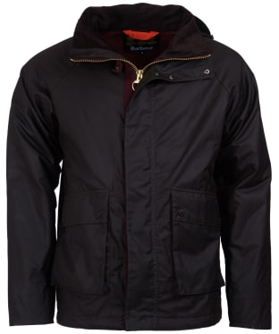 Men's Barbour Fohn Waxed Jacket - Rustic