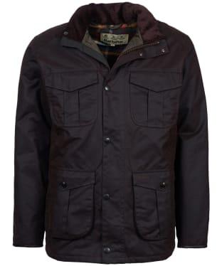 Men's Barbour Latrigg Waxed Jacket - Rustic