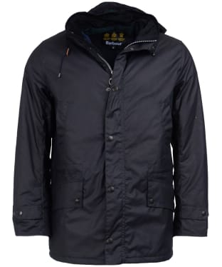 Men's Barbour Gailey Waxed Jacket - Navy