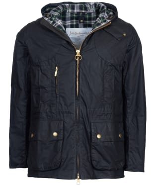 Men's Barbour Icons Lightweight Durham Waxed Jacket - Sage