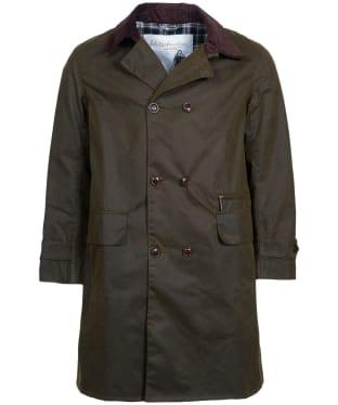 Men's Barbour Icons Haydon Wax Jacket - Olive