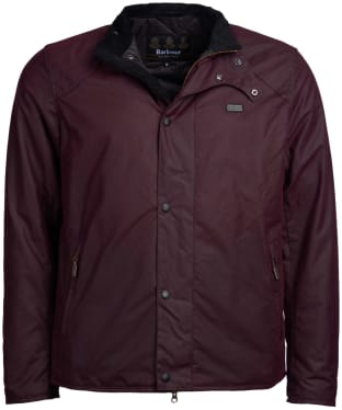 Men's Barbour International Ducal Wax Jacket - Merlot