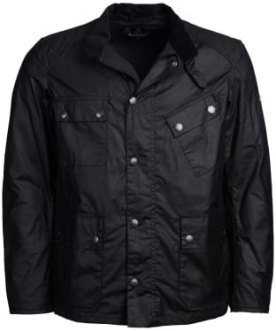 Men's Barbour International Leonards Waxed Cotton Jacket