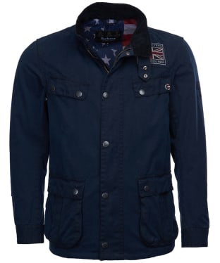 Men's Barbour International Steve McQueen Lester Washed Waxed Jacket