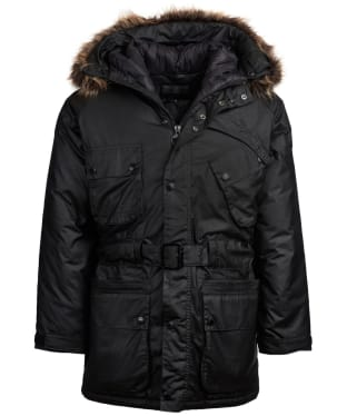 Men's Barbour International Ergo Wax Parka Jacket